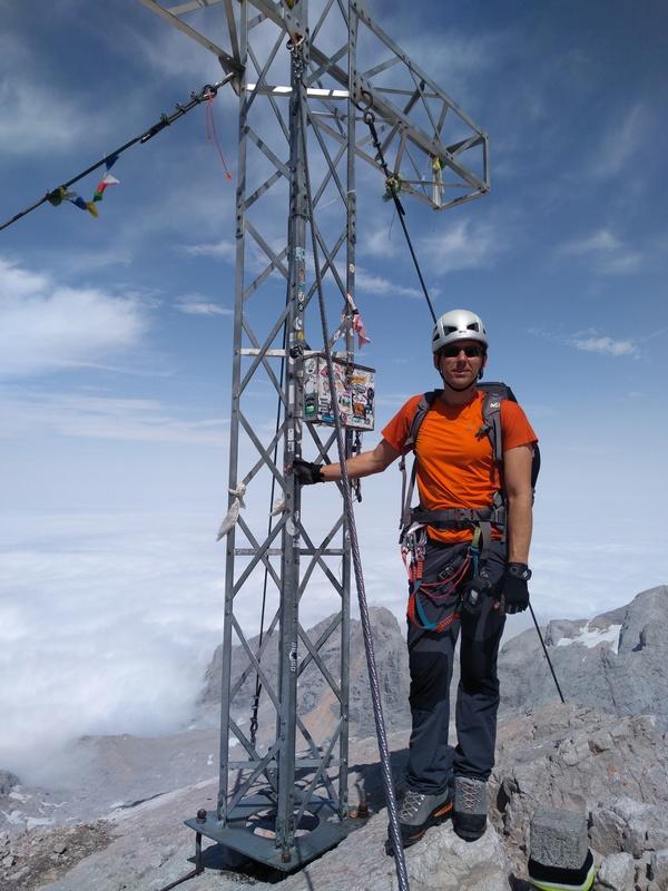 Am Gipfel des Hohen Dachstein