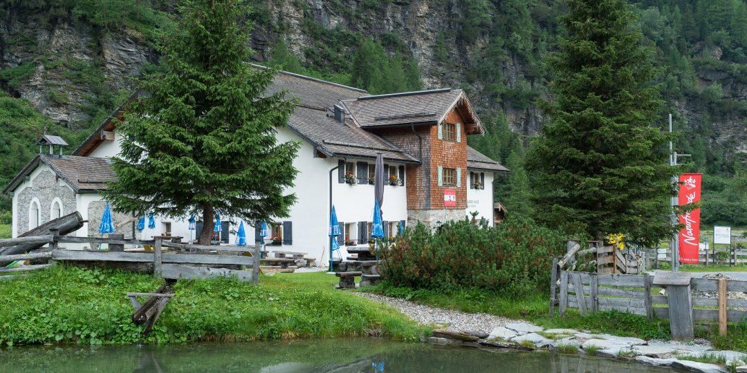 Naturfreundehaus Kolm Saigurn. Foto: Alfred Leitgeb