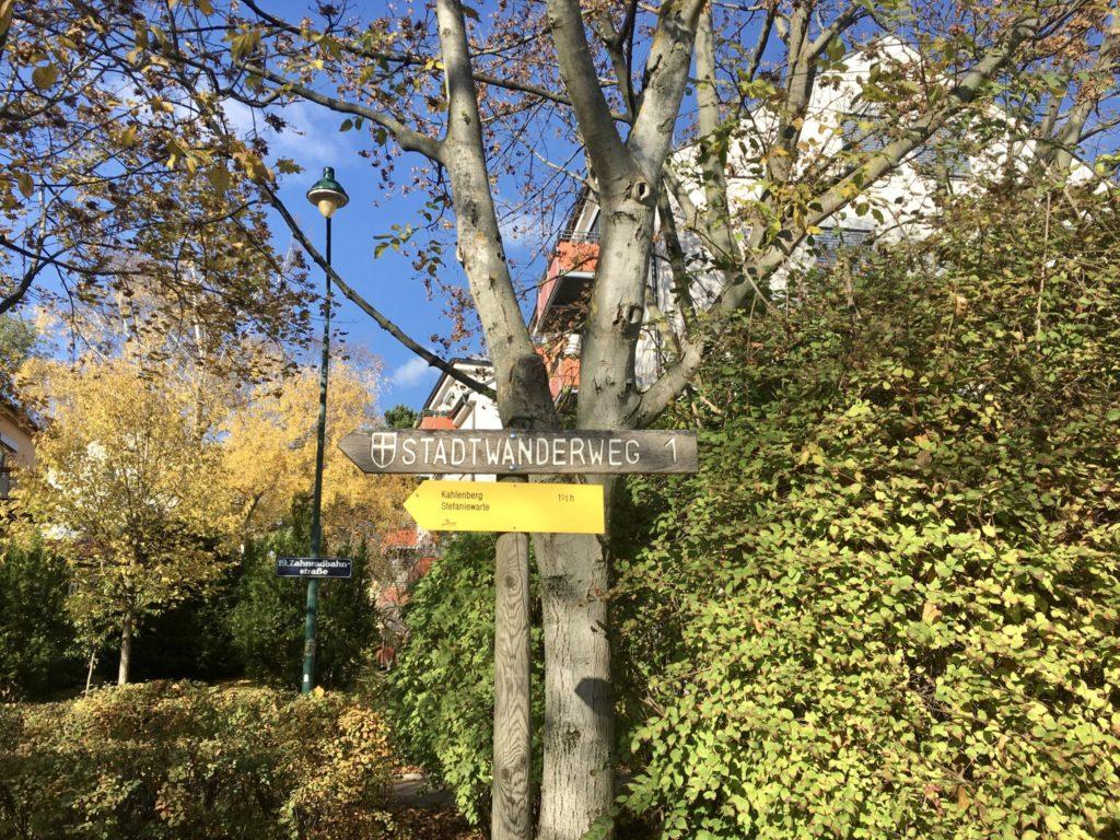 Wegweiser Endstation D - Hier gehts los! Foto: Veronika Schöll
