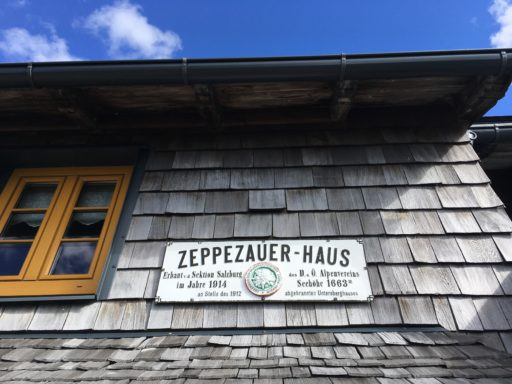 Zeppezauer Haus. Foto: Veronika Schöll