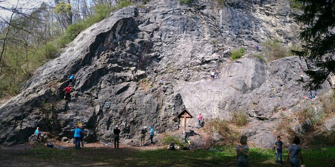Klettergarten Koblach. Foto: Kai Klesatschke auf theCrag.com