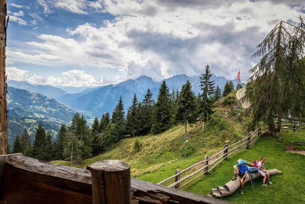 Naturfreundehaus Vinzenz Biedner Ausblick. Foto: Doris List-Winder