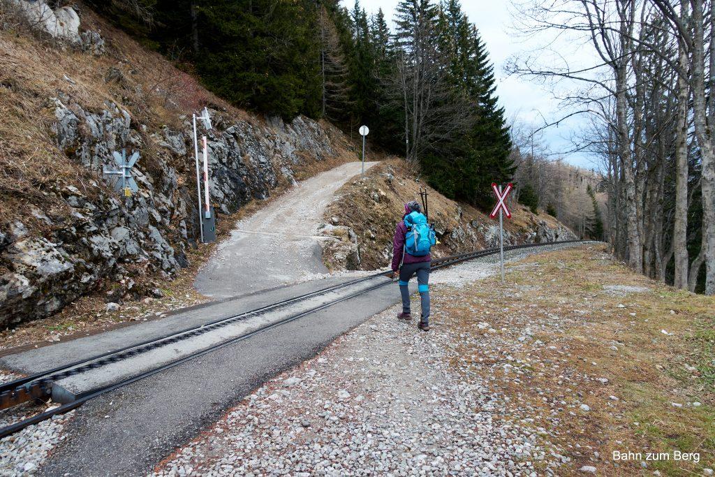 Zahnradbahnweg. Foto: Martin Heppner