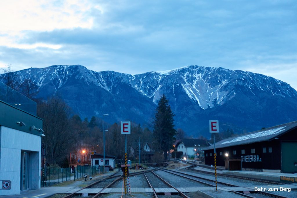 Bahnhof Puchberg am Schneeberg. Foto: Martin Heppner