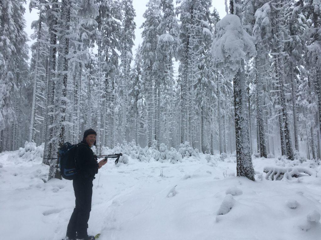 Ein Männlein steht im Walde... Foto Veronika Schöll