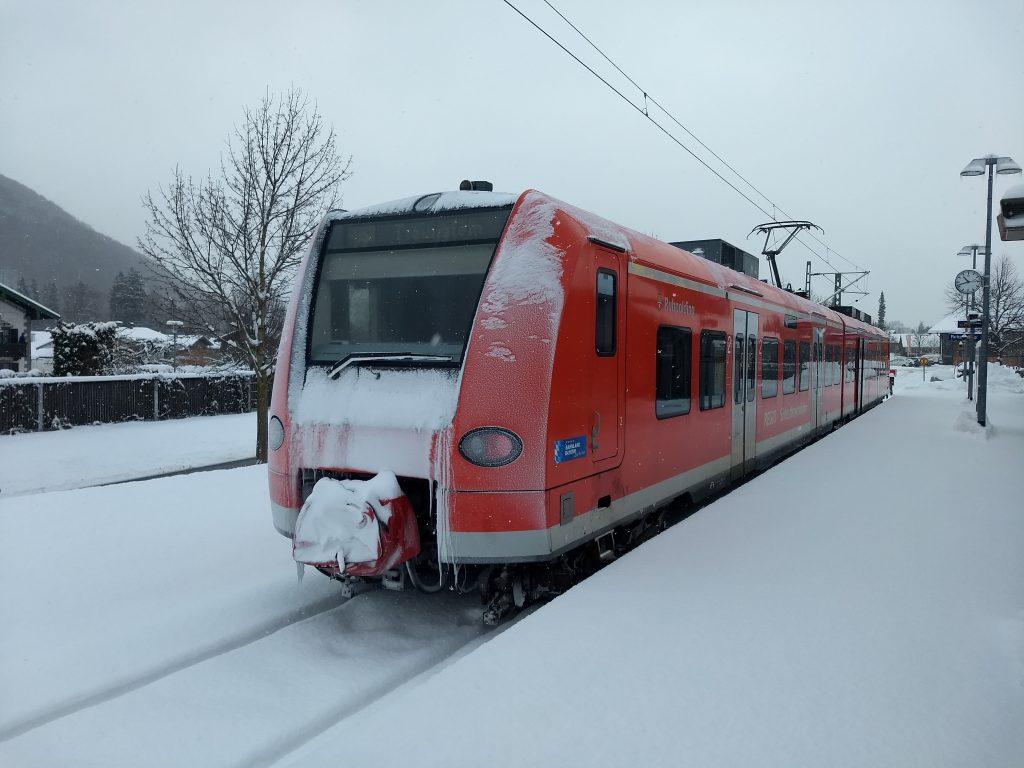 SOB zurück nach Traunstein. Foto: Nikolaus Vogl