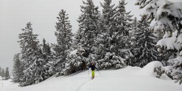 Skitour auf den kleinen Nachbarn des Rauschbergs