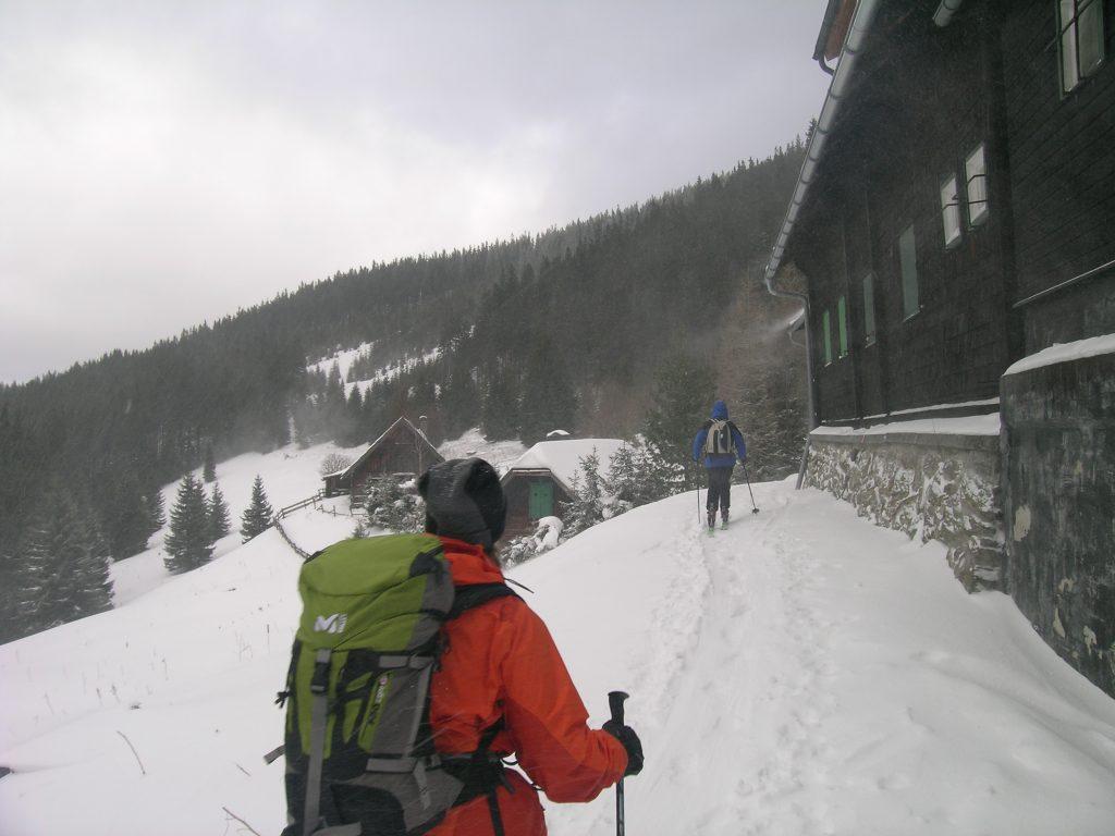 Beim Karl Lechner Haus. Foto: Alpenverein Edelweiss