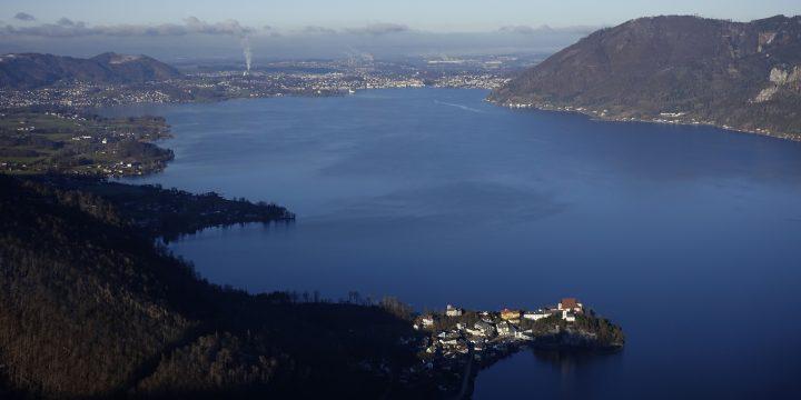 Blick nach Gmunden. Foto: Peter Backé