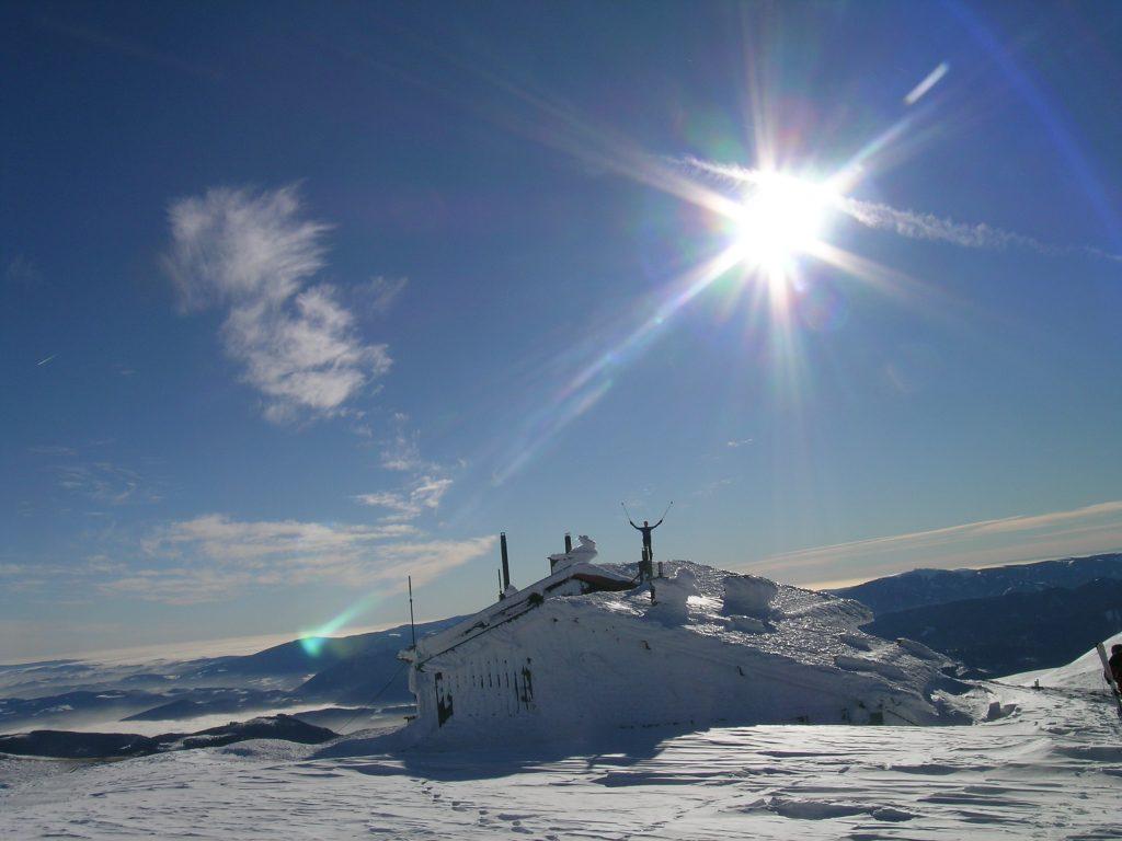 Auf der Fischerhütte. Foto: Alpenverein Edelweiss