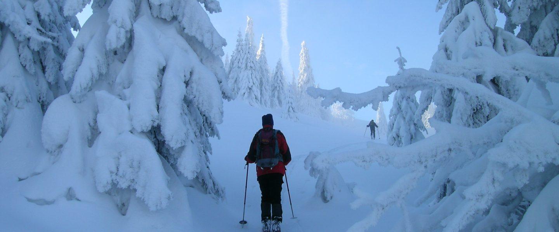 Impression unterwegs. Foto: Alpenverein Edelweiss