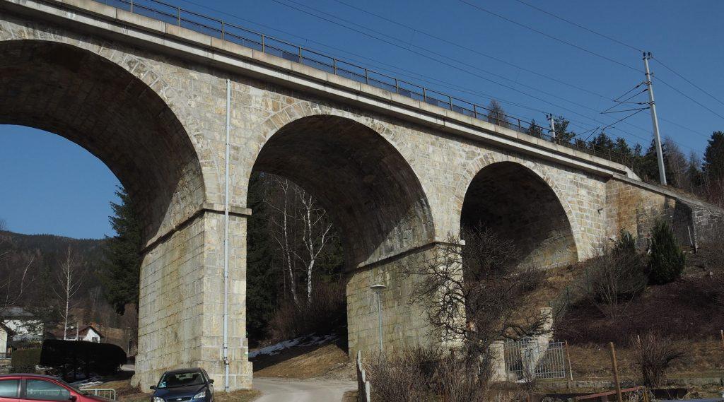 Viadukt von Steinhaus. Foto: Gerold Petritsch