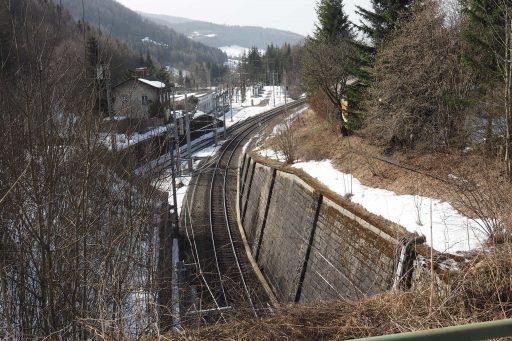 Ende des Bahntunnels. Foto: Gerold Petritsch
