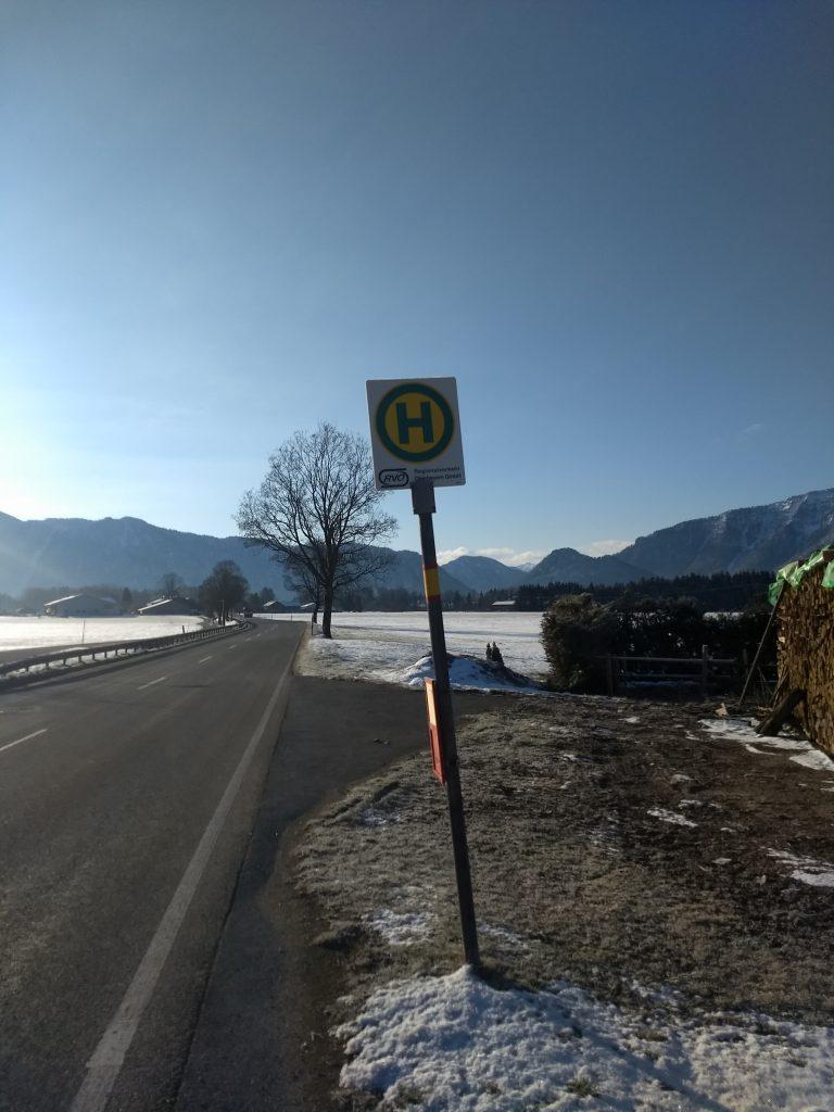 Ziel der Fahrt in Inzell-Wagenau. Foto: Nikolaus Vogl