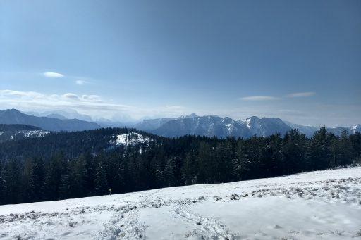 Im Abstieg am Teisenbergkopf. Foto: Nikolaus Vogl
