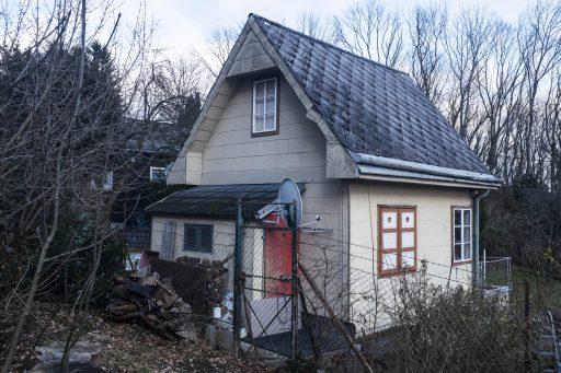 Schrebergärten auf dem Weg zum Michaelerbergwald. Foto: Birgit Reiter