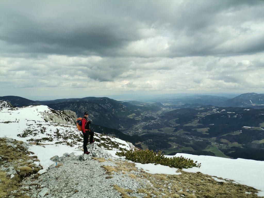 Zwei Gipfel sind Martin zu wenig. Gut, dass er noch einen dritten erobern kann :-) Foto Veronika Schöll
