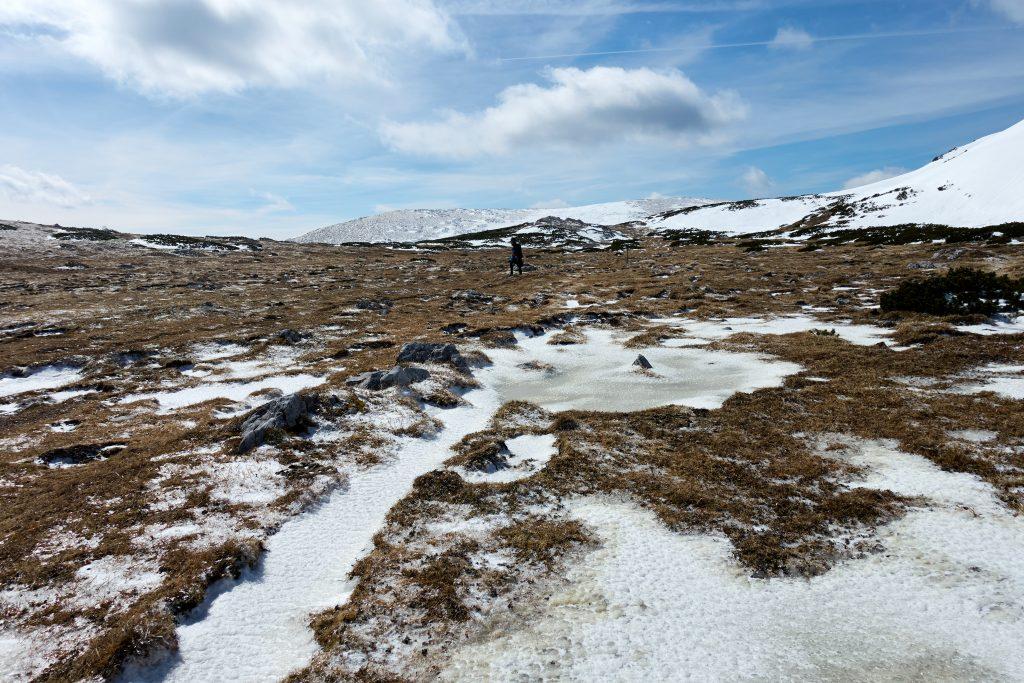 Unendliche Weiten zwischen Trinksteinsattel und Seehütte. Foto Martin Heppner