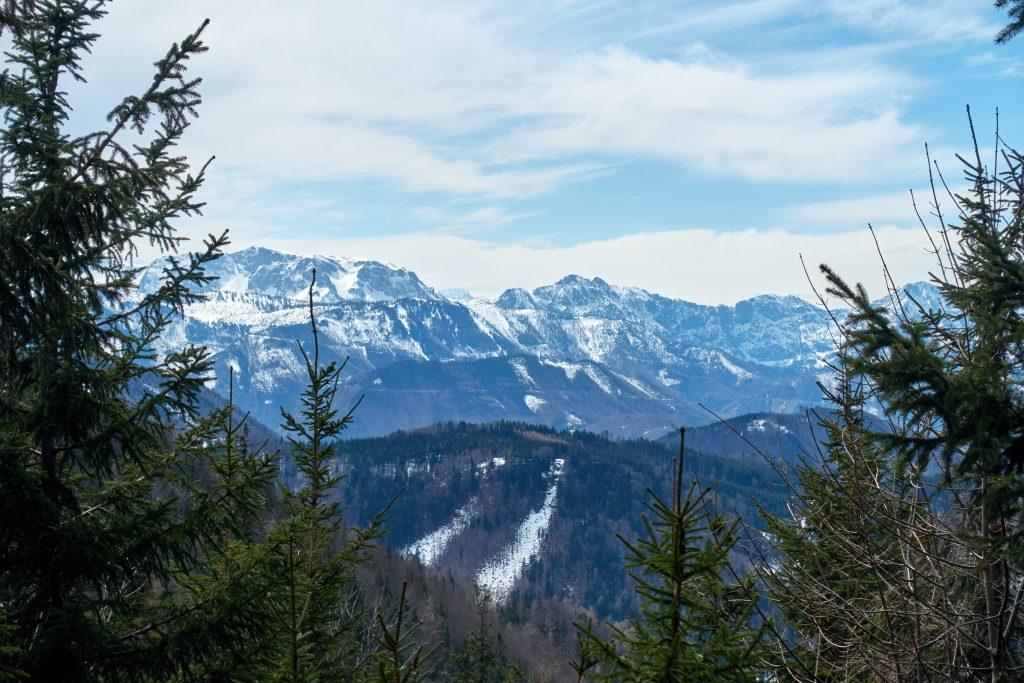 Aussicht am Weg zur Schosserhütte Foto Martin Heppner