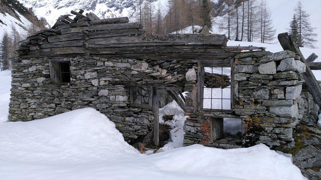 Ruine der Oberen Radeckalm. Foto: Karl Plohovich