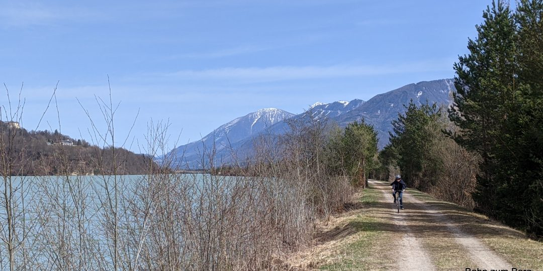 Drauradweg im Frühling. Foto: Martin Heppner
