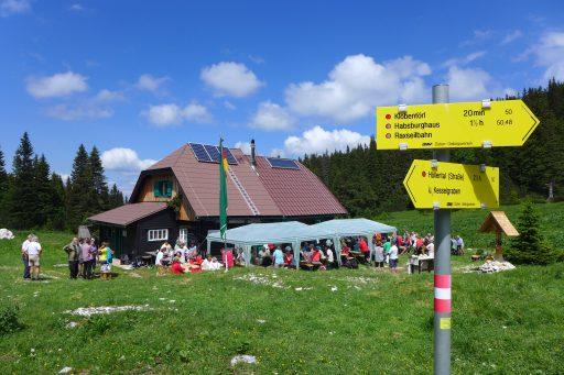 Bei der Gloggnitzer Hütte. Foto: Alpenverein Edelweiss