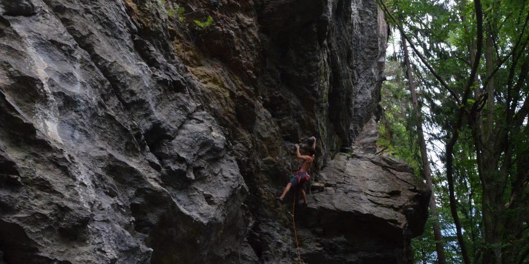 Klettergarten Peterlewand. Foto: Stefan Lieb/ÖAV