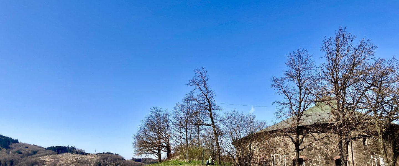"""Genoveva ist der 13-er-Turm und war von 1933–1955 als """"Pulverturm"""" (Sprengstofflager) bekannt. Foto: Stefan Hochhold"""