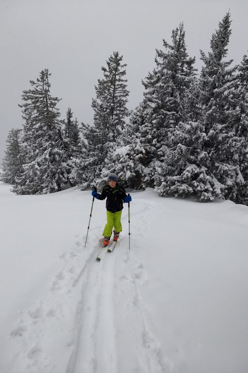 Gemeinsame Skitour auf den Streicher. Fotos Nikolaus Vogl
