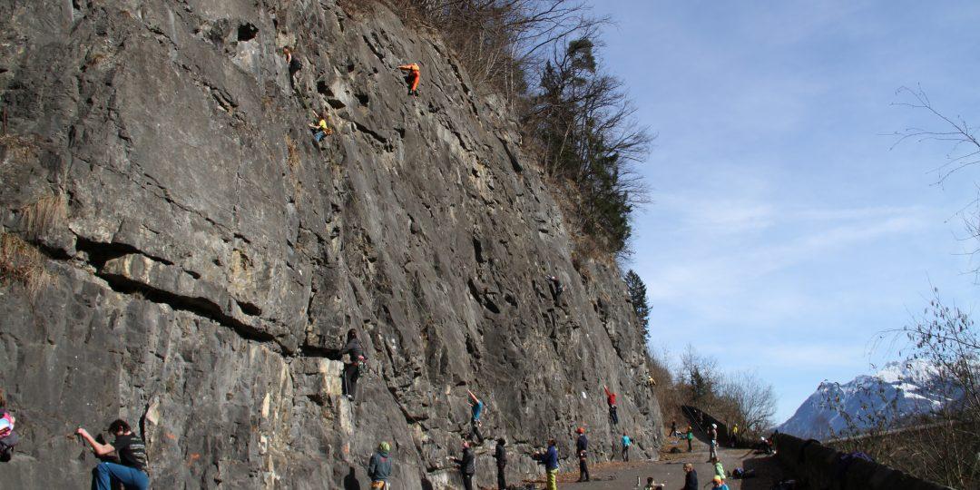 Klettergarten Illschlucht. Foto: downhillhoppers.com