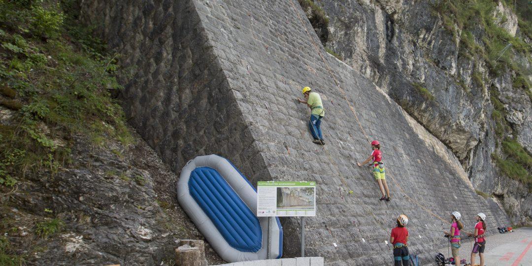 Klettergarten Achenseehof. Foto: Mike Gabl