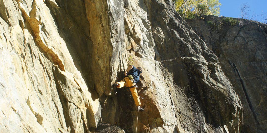 Klettergarten Kreuzwand. Foto: Stefan Lieb