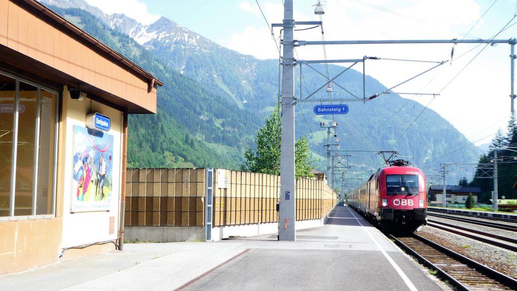 Bahnhof Dorfgastein. Foto: Karl Plohovich