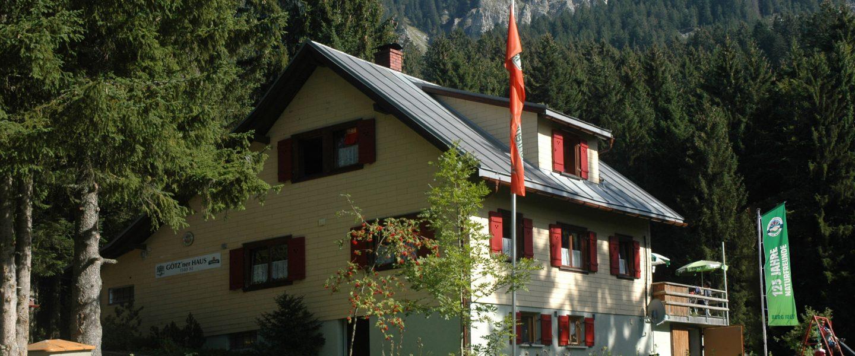Götzner Haus. Foto: Naturfreunde