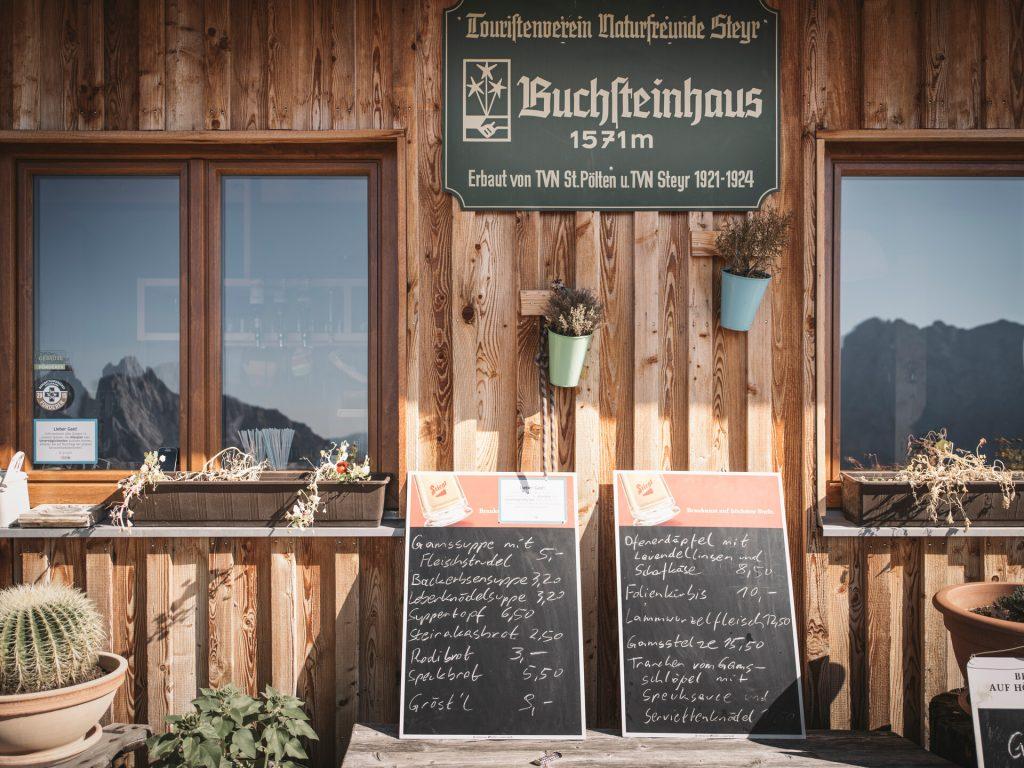 Buchsteinhaus. Foto: Stefan Leitner