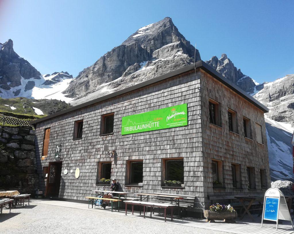 Tribulaunhütte. Foto: Naturfreunde