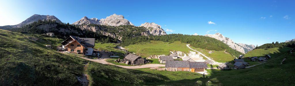 Almgebiet Fodara-Vedla. Foto: Konrad Gwiggner