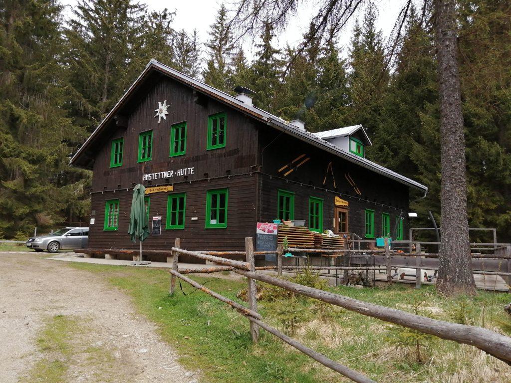 Amstettner Hütte. Foto: Jürgen Birgl