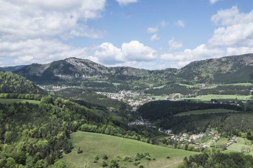 Blick auf Grünbach. Foto: Birgit Reiter