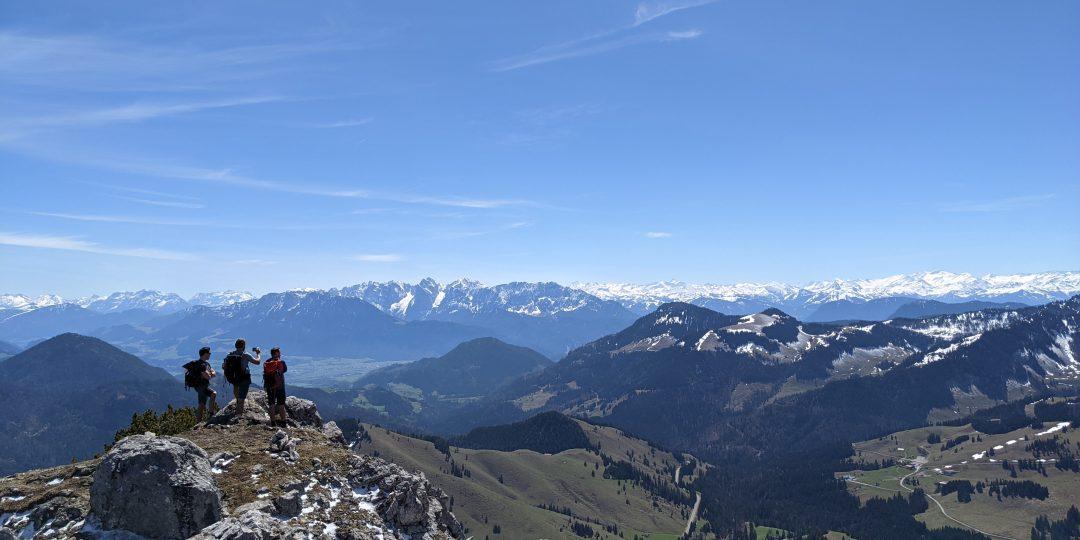 Am Gipfel des Wildalpjoch. Foto: Tobias Hecht