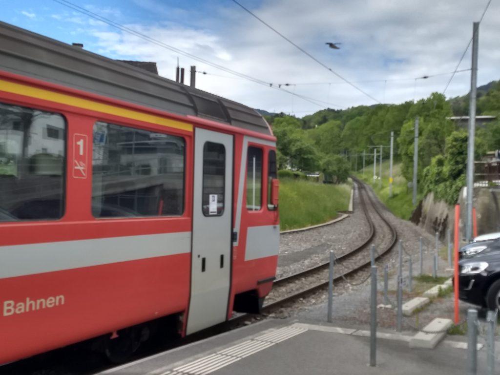 Bahnhof Altstätten Stadt. Foto: Nikolaus Vogl