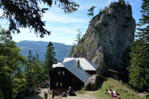 Bei der Kienthalerhütte. Foto: Alpenverein Edelweiss