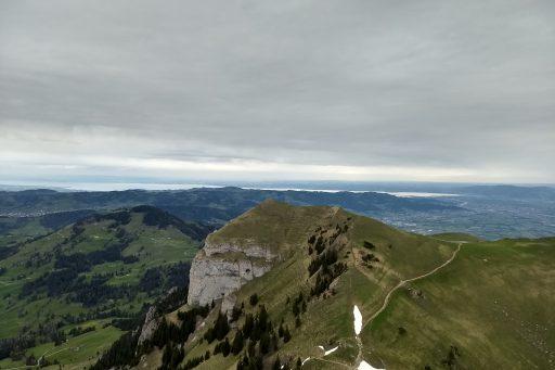 Blick Richtung Bodensee. Foto: Nikolaus Vogl