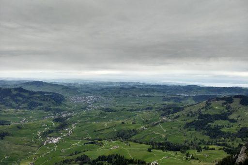 Blick übers Appenzeller Land. Foto: Nikolaus Vogl