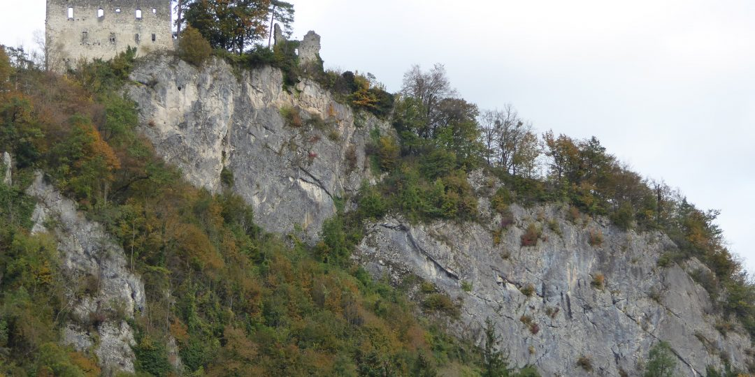 Klettergarten Burgfelsen. Foto: Sandra Kraushofer