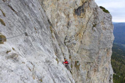 Haidsteig 1. Foto: Alpenverein Edelweiss