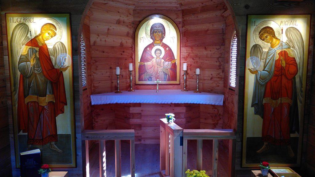 Innenraum der Kapelle. Foto: Karl Plohovich