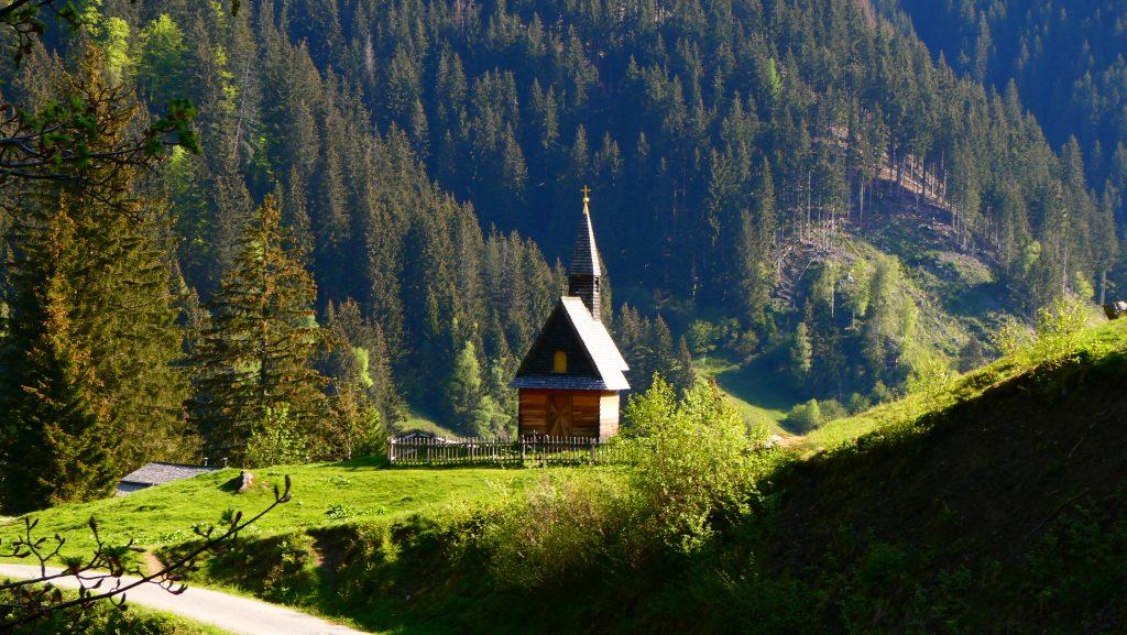 Die Kapelle nahe der Paulhütte. Foto: Karl Plohovich