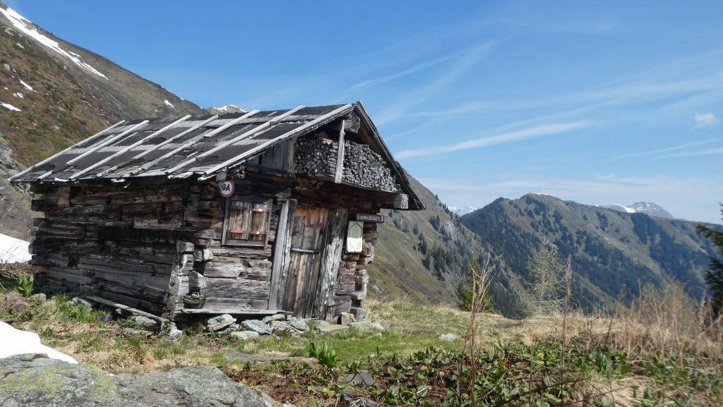 Jagdhütte. Foto: Karl Plohovich