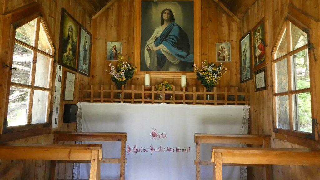 Kapelle (1.478 Meter). Foto: Karl Plohovich